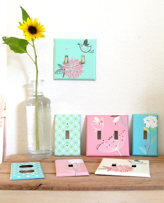 15 Interesting Diy Ways To Customize Light Switch And Outlet Covers