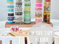 Broom handle to washi tape organizer 200x150 15 Ways to Upcycle Brooms and Broom Handles with Fun Flair!