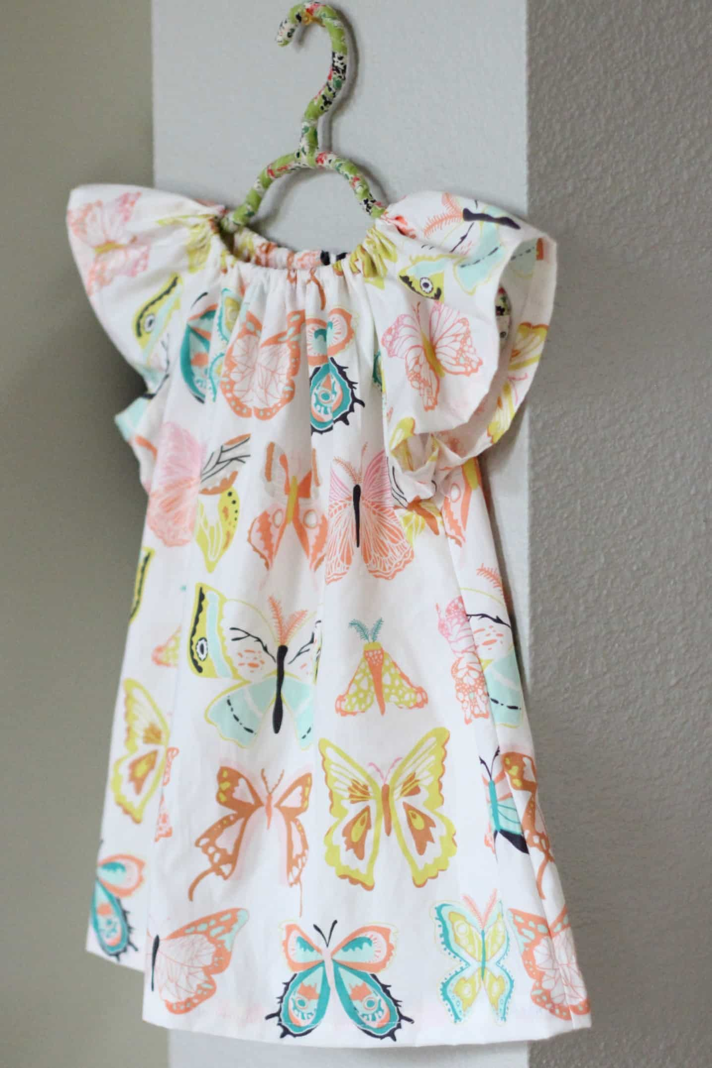 Cute singed peasant dress