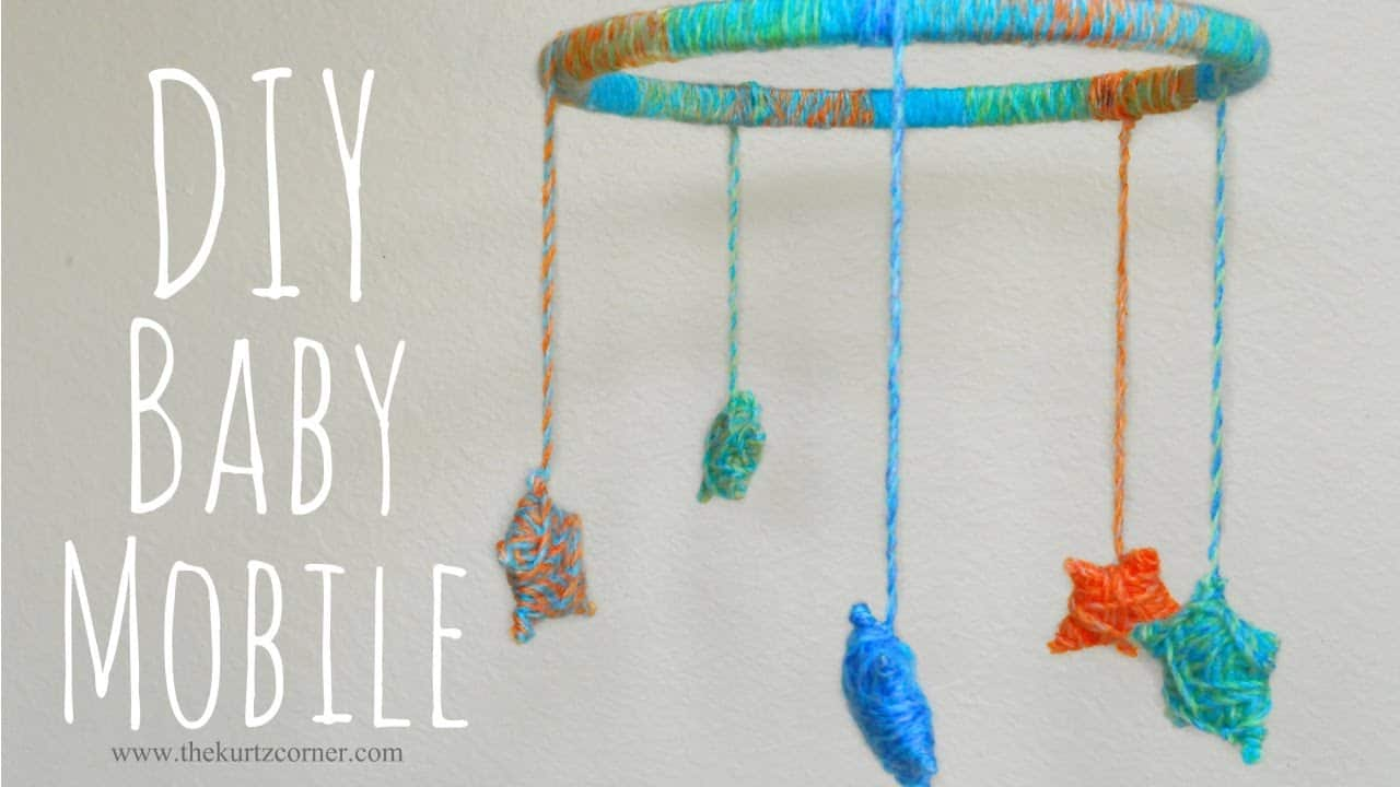 DIY yarn stars