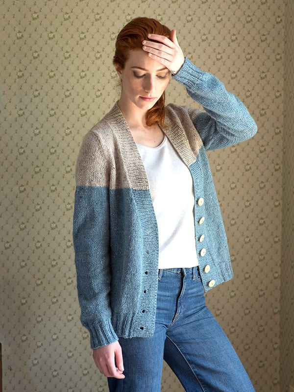 Estuary Two Toned Cardigan