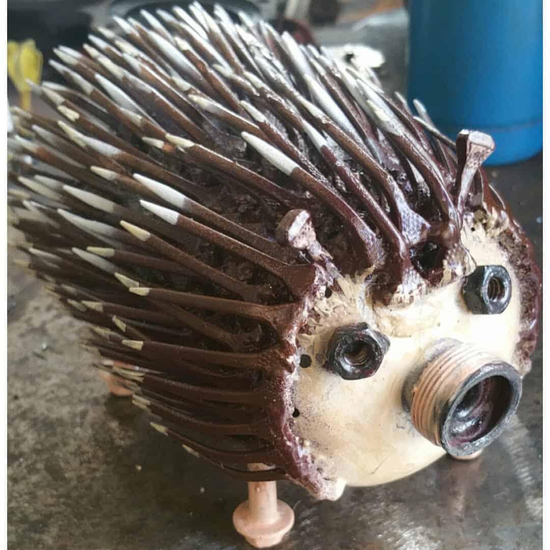 Hedgehog welding project