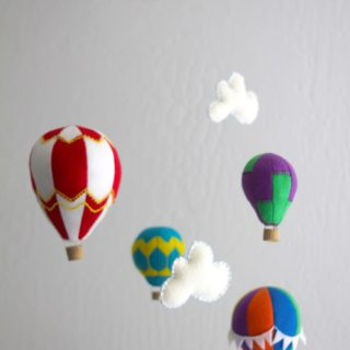 Hang em' in Style: Cute DIY Mobiles for Babies' Rooms
