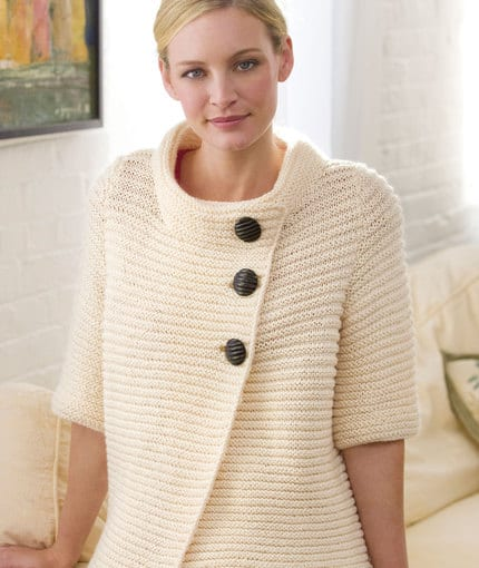 Knit Robbed Cardigan
