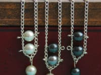 Pearl ladder necklace 200x150 Pretty and Timeless DIY Pearl Crafts