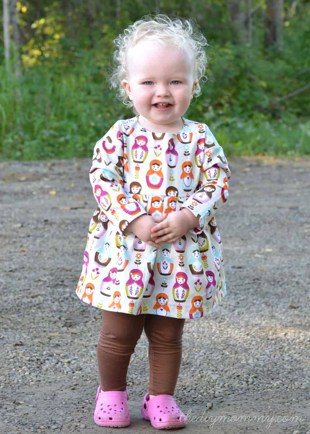 Playtime tunic and leggings