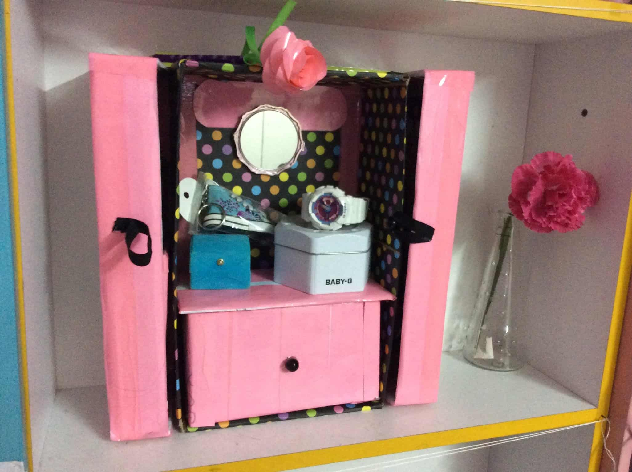 Shoebox Makeup And Accessory Organizer
