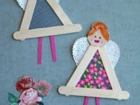 Triangular garden fairies 200x150 Ultra Cute and Easy Fairy Themed Crafts and DIY Projects