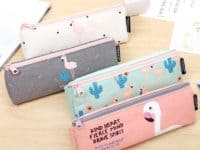 Cute canvas kawaii pencil cases 200x150 Cool DIY Pencil Cases for Going Back to School