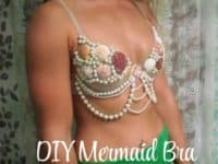 DIY mermaid bra 200x150 15 Creative Ways to Make or Alter Bras