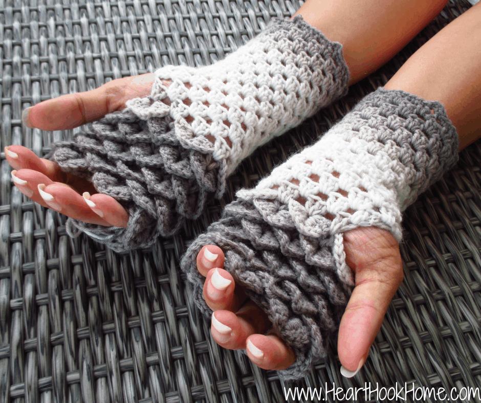 Dragon tears fingerless gloves