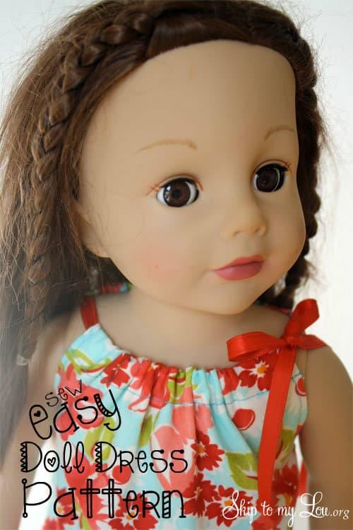 Easy doll dress