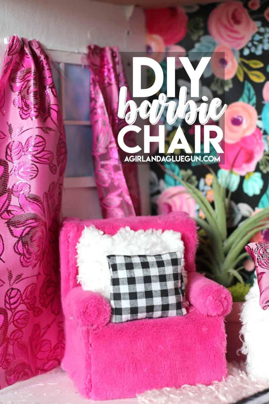 Fuzzy DIY lounge chair