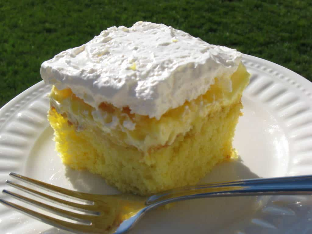 Lemon pineapple cake