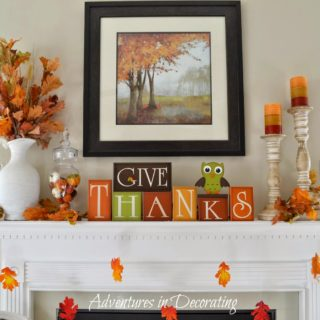 Seasonal Change in Decor: 15 Cute Fall Projects for Your Mantel