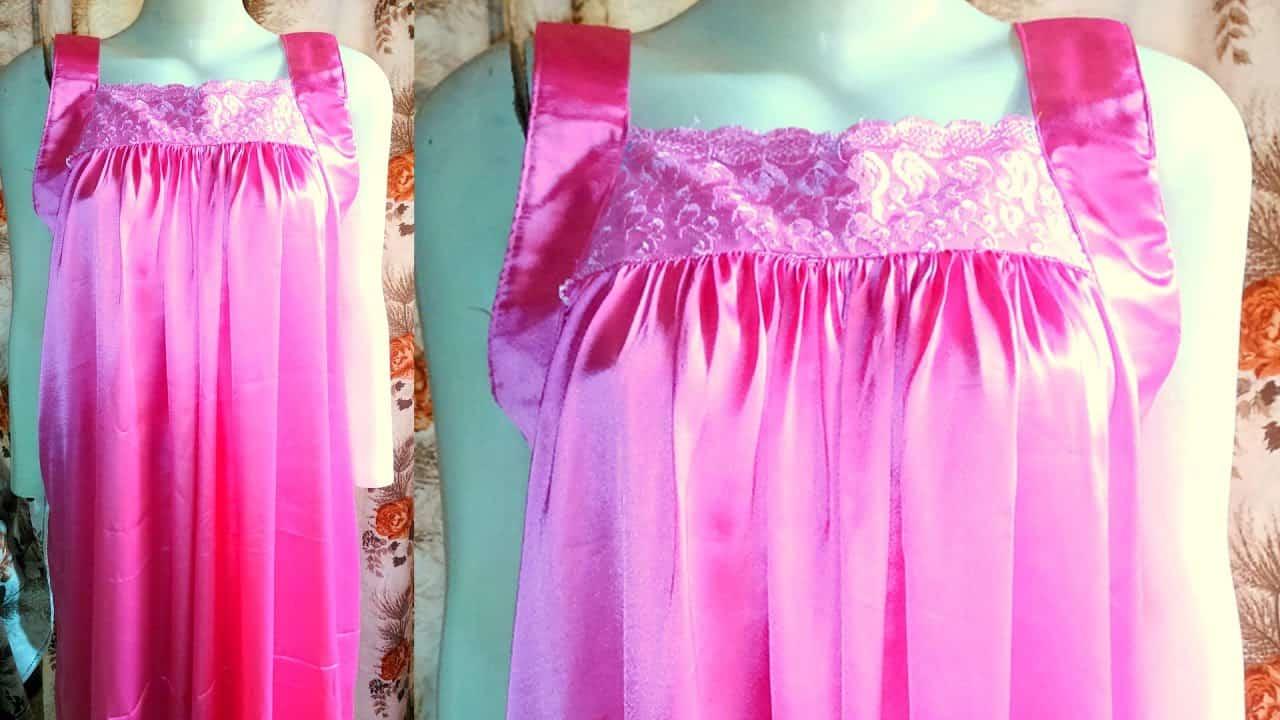 Vintage inspired silk nightie