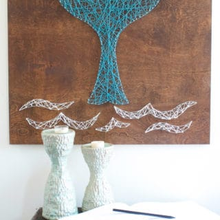 Discover the World of Pretty String Art Crafts with Modern Flair