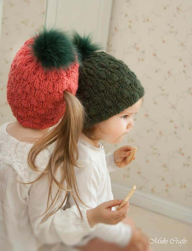 Abbey ponytail hat
