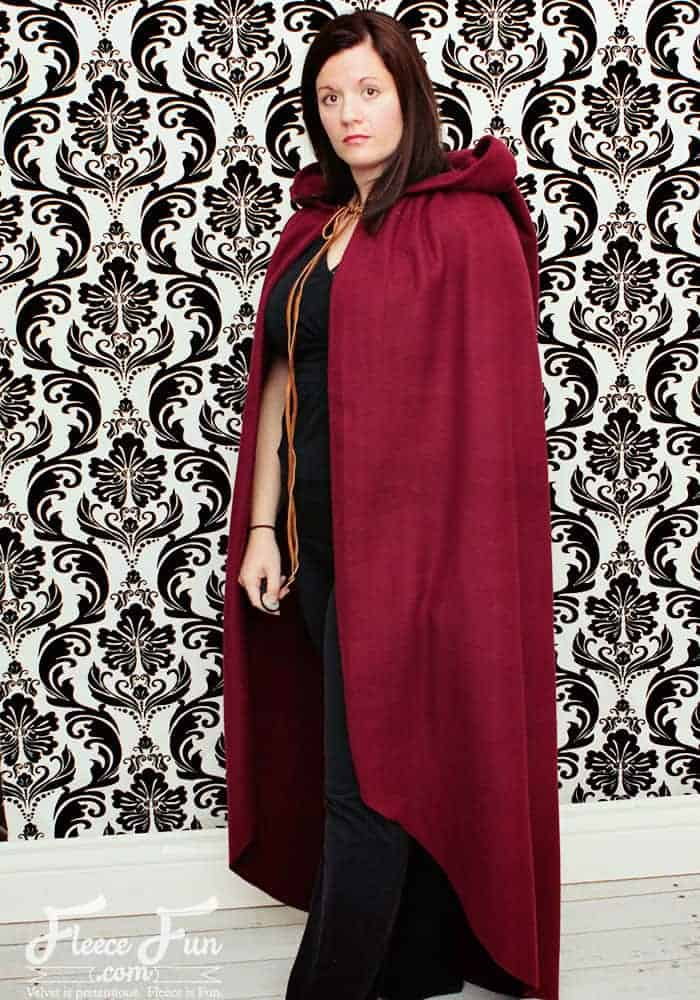 Adult Little Red Riding Hood cape