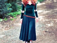 Adult Merida costume from Brave 200x150 Join in On the Fun: DIY Halloween Costume Ideas for Adults
