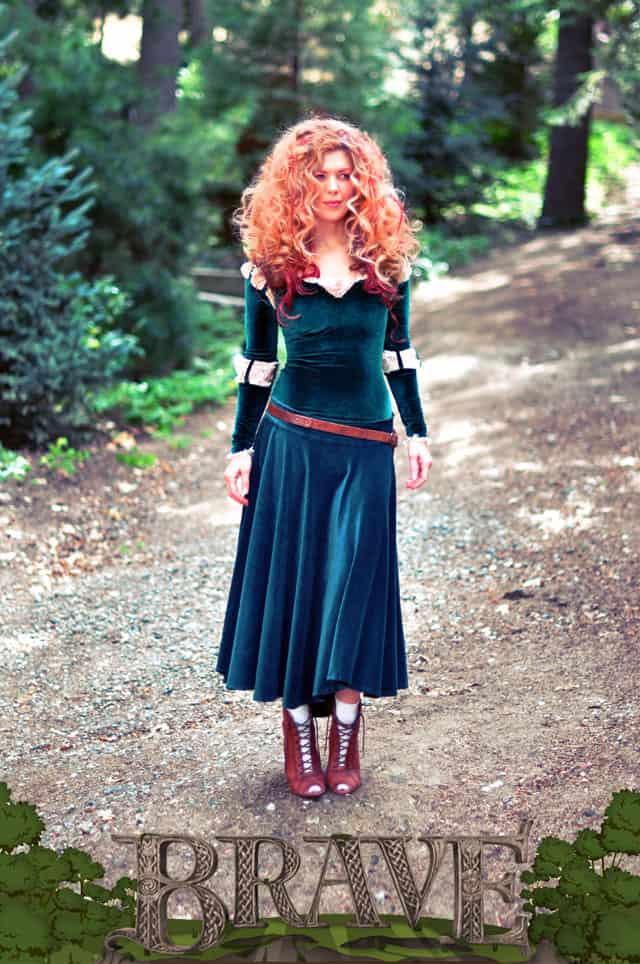 Adult Merida costume from Brave
