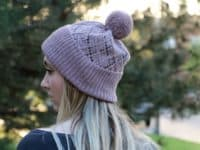 Argyle hat 200x150 Colorful and Cozy Knitted Hat Patterns for Fall to Try