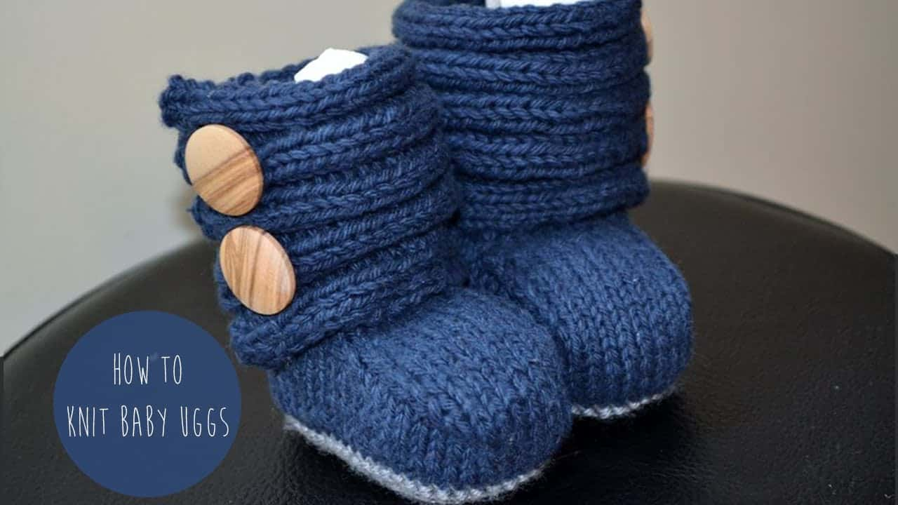 Baby Uggs with buttons