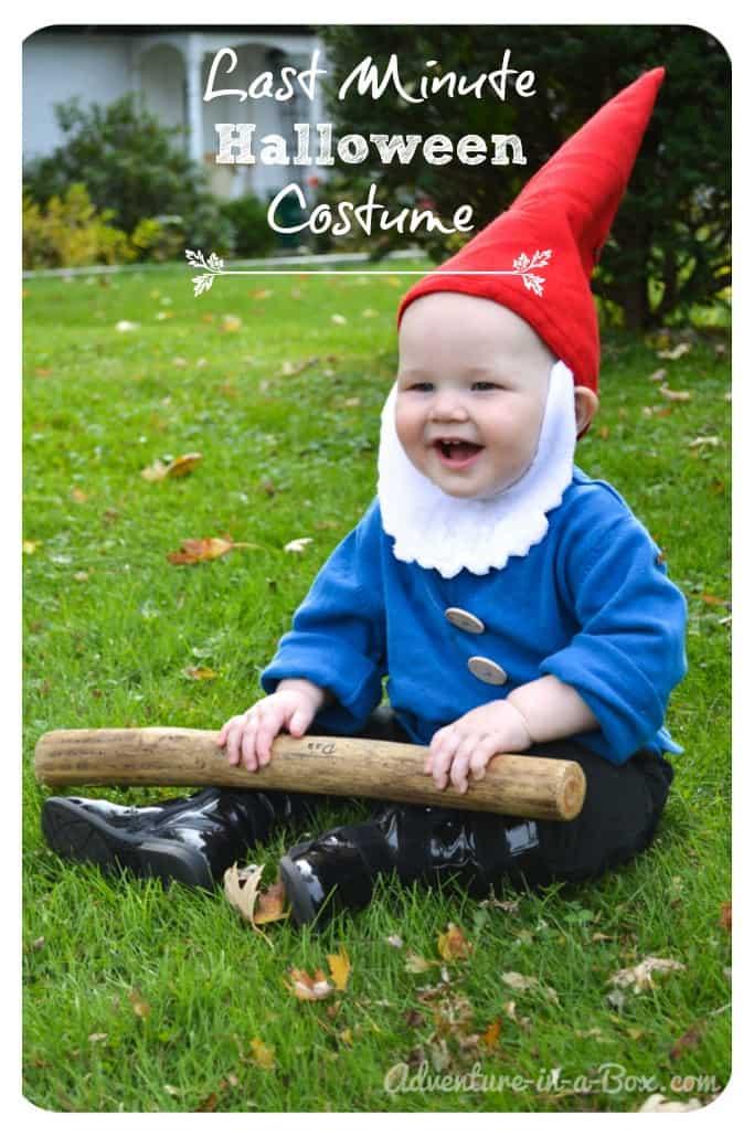 Baby garden gnome