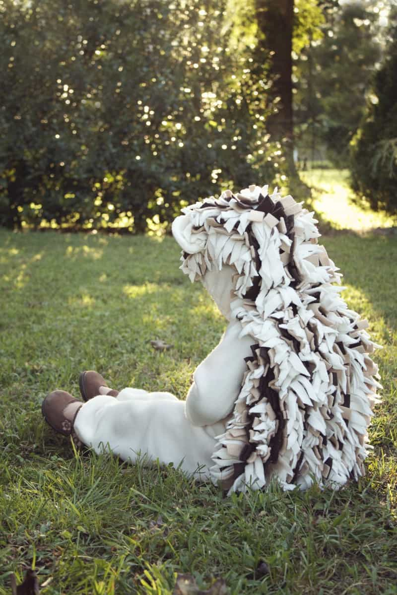 Baby hedgehog costume