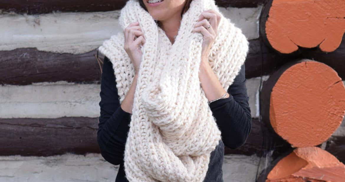 Big Knit scarf
