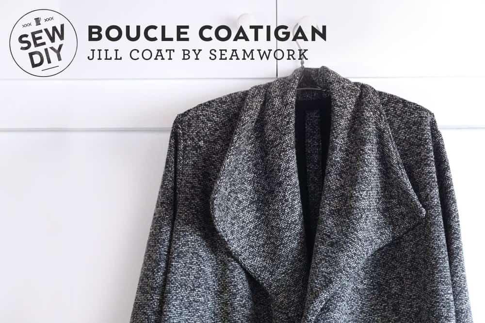 Boucle coatigan