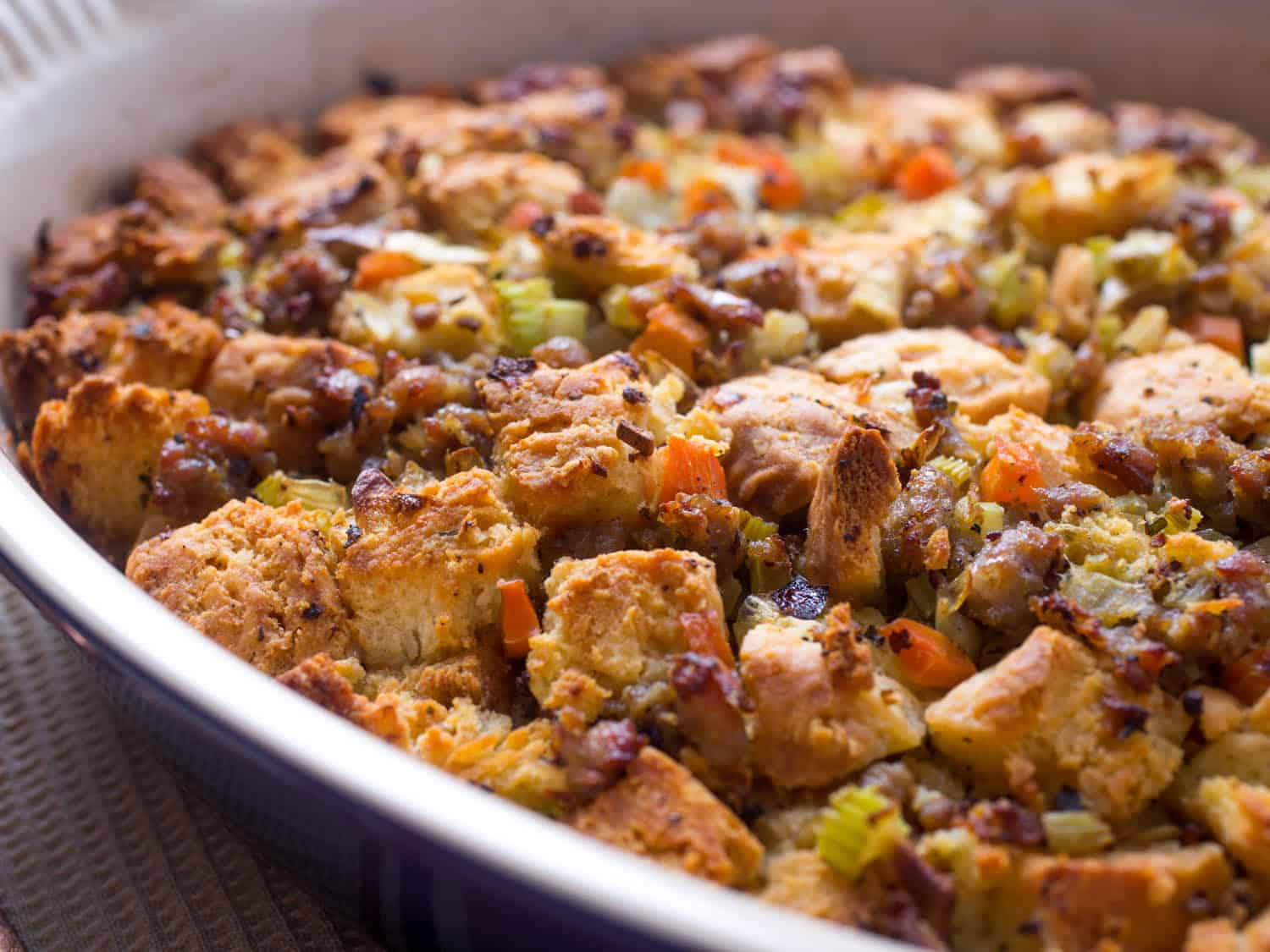 Buttermilk biscuit stuffing