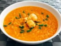 Cauliflower sweet potato soup 200x150 Pumpkin, Chicken and More: 15 Delicious Homemade Soup Recipes for Fall