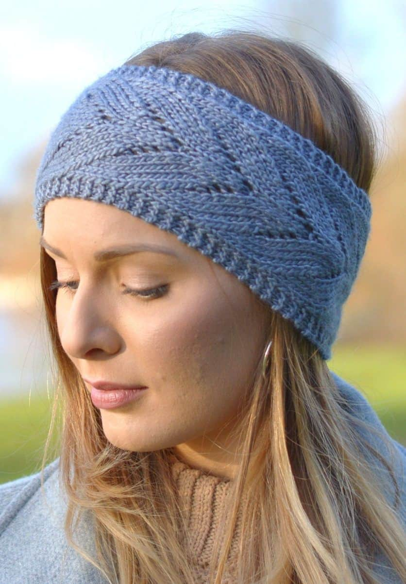 Homemade Coziness Smart Knitted Ear Warmer And Headband