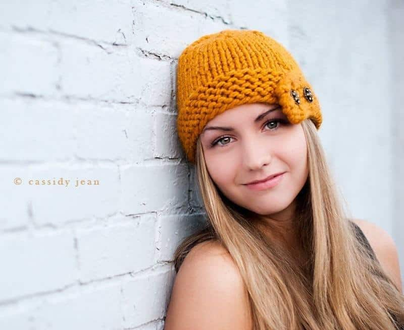 Chunky Cloche hat