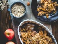 Classic maple apple crisp 200x150 Desserts, Drinks and Sumptuous Treats: Maple Recipes for Fall