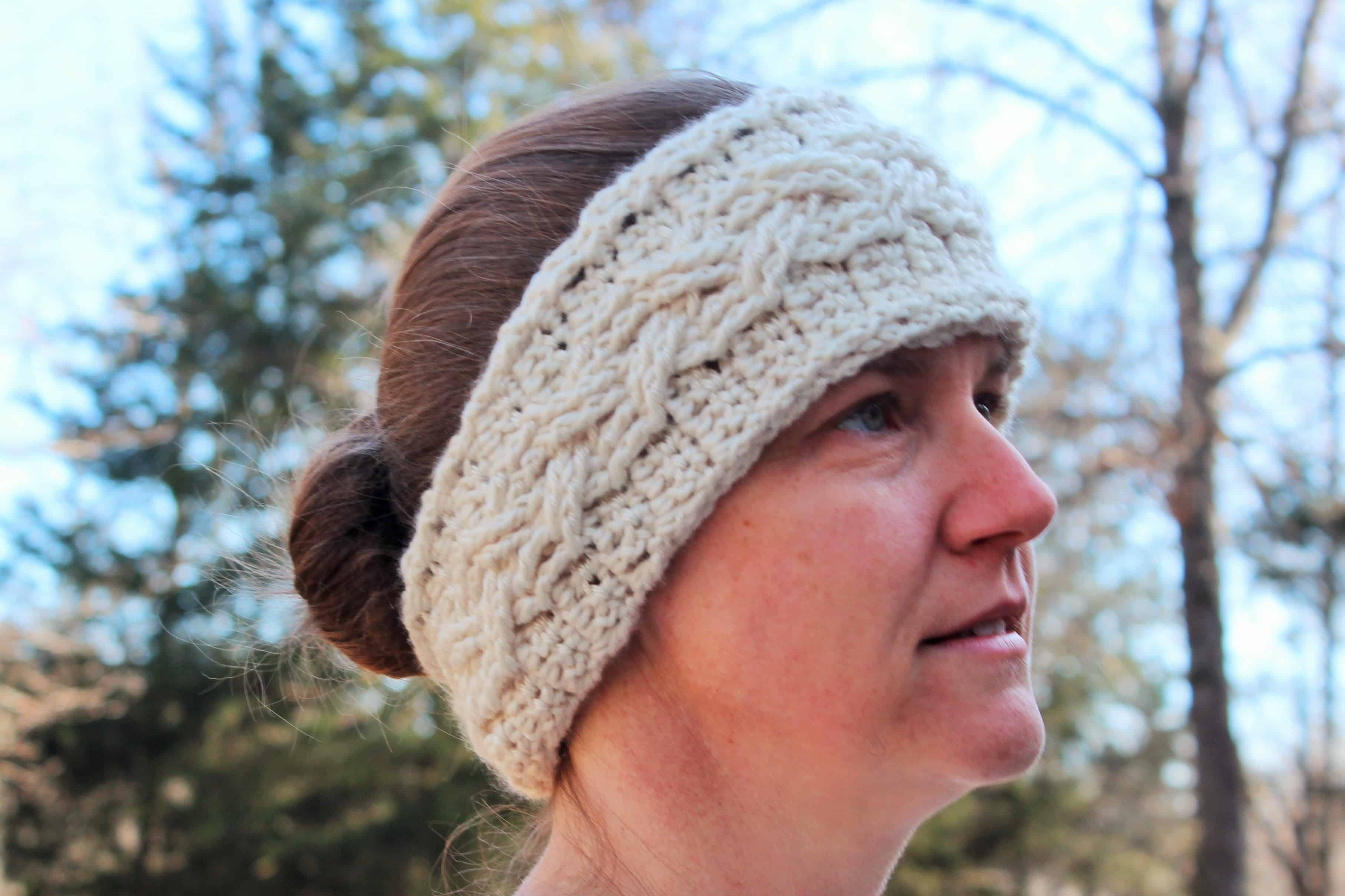 Cozy cabled crochet