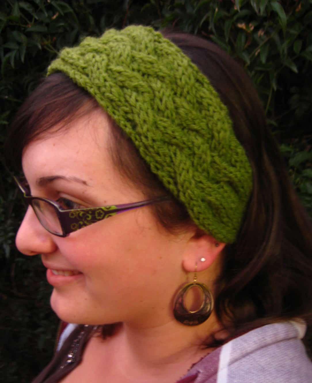 Criss Cross Cable headband