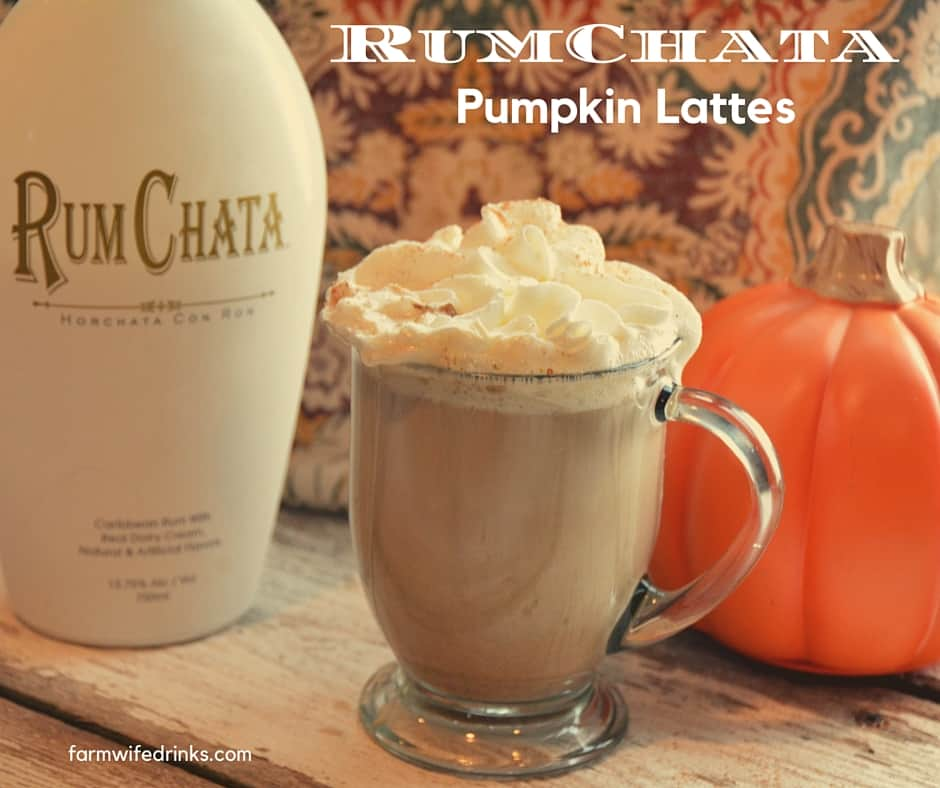 Crock pot pumpkin spice latte with RumChata
