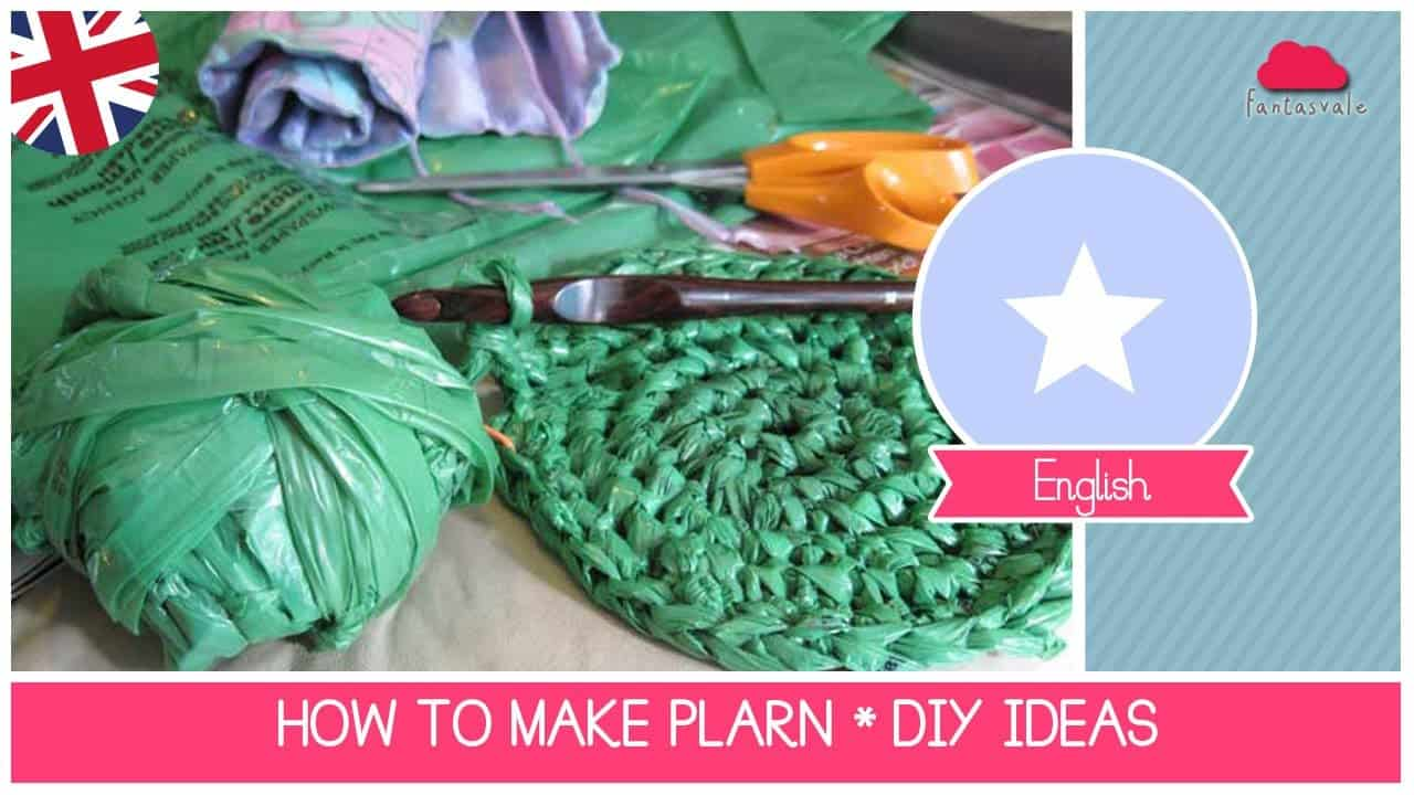 DIY plarn for crocheting