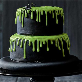 Dark Treats: Homemade Halloween Cake Recipes