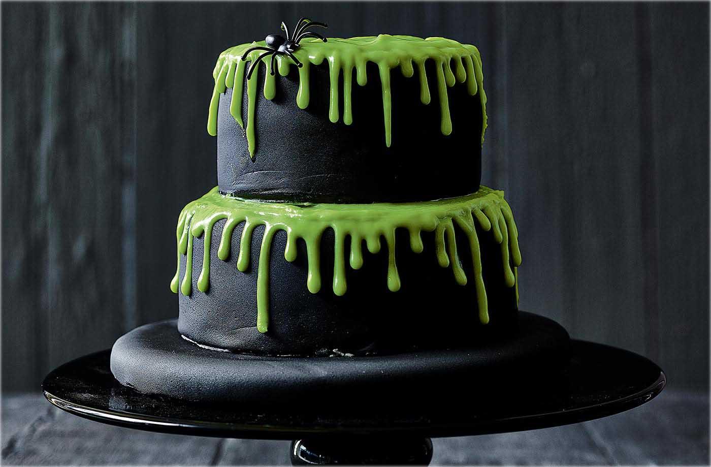 Dreadful dripping cake