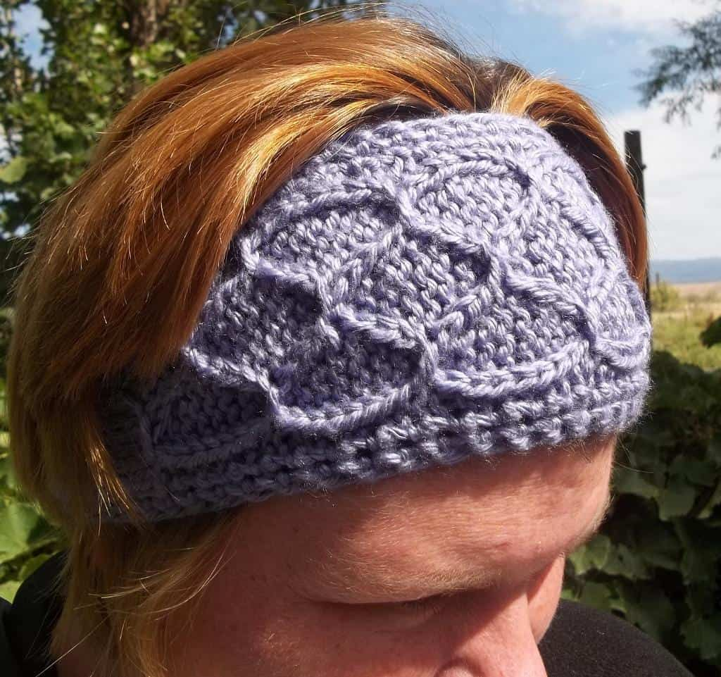Easy smocked ear warmer