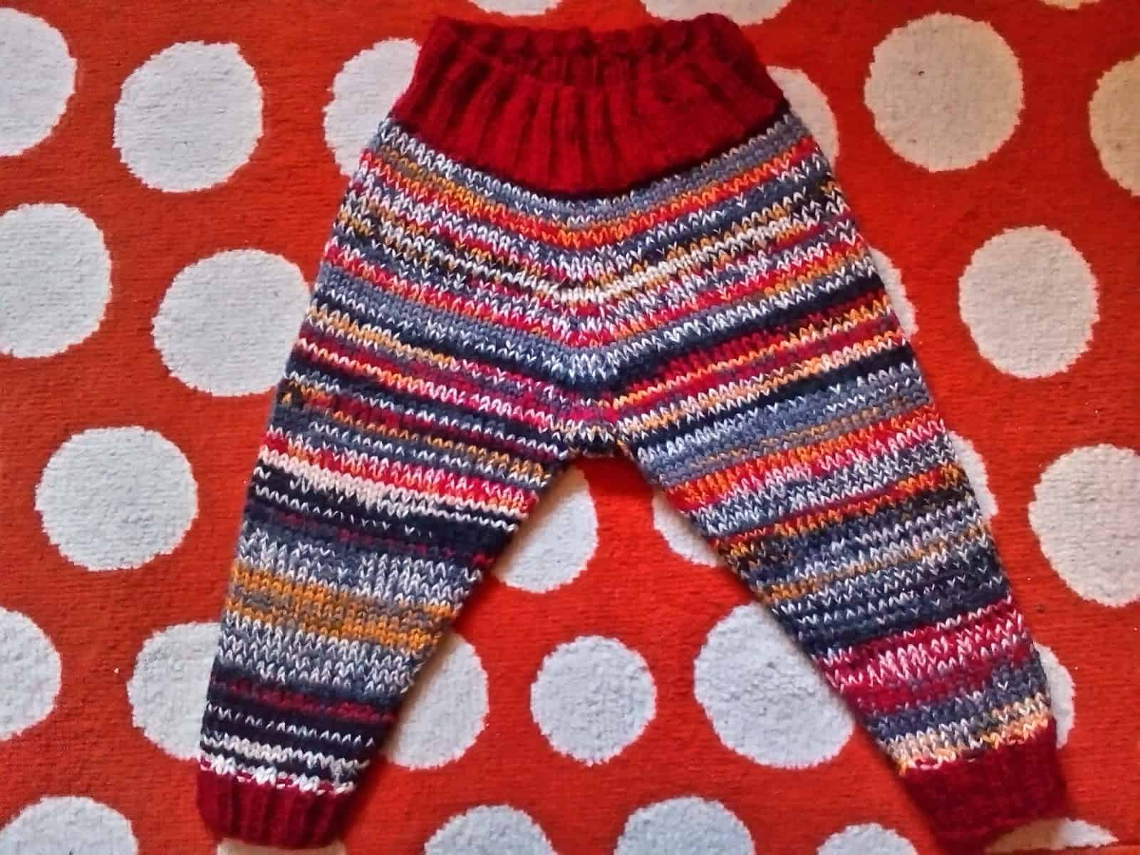 Elizabeth Zimmermans' baby leggings