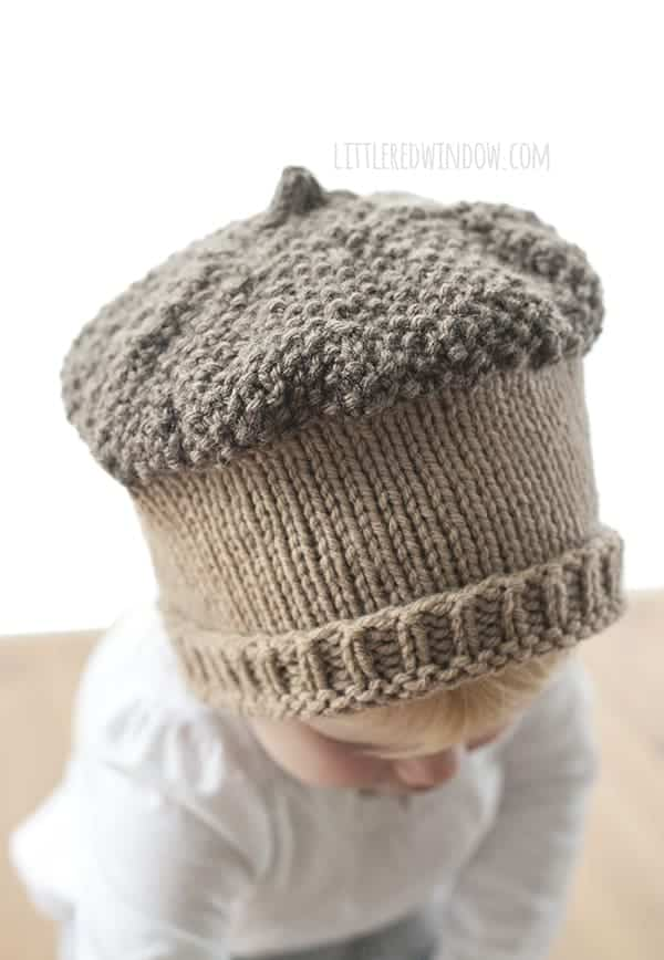 Fall Acorn hat