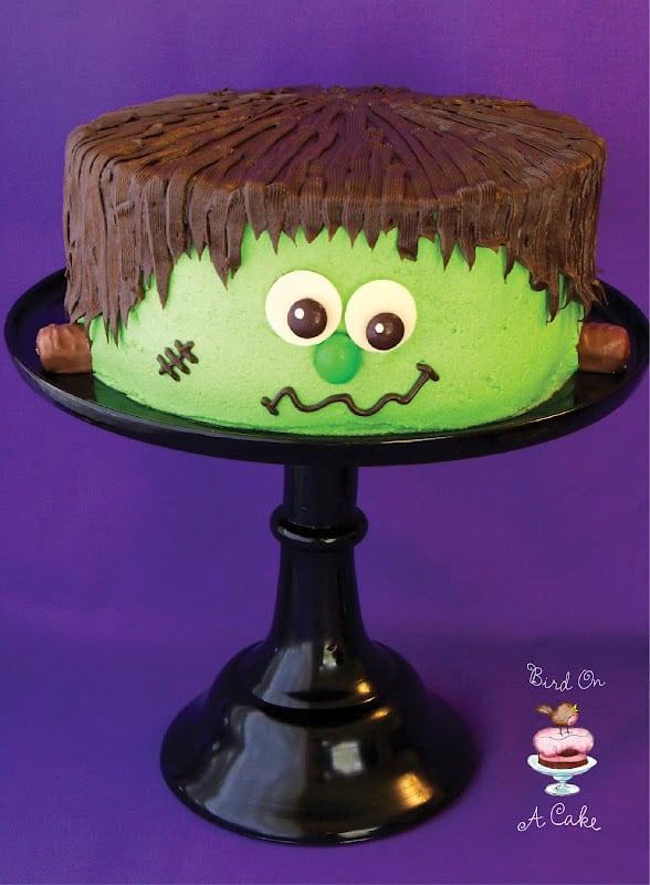 Frankenstein's Monter cake