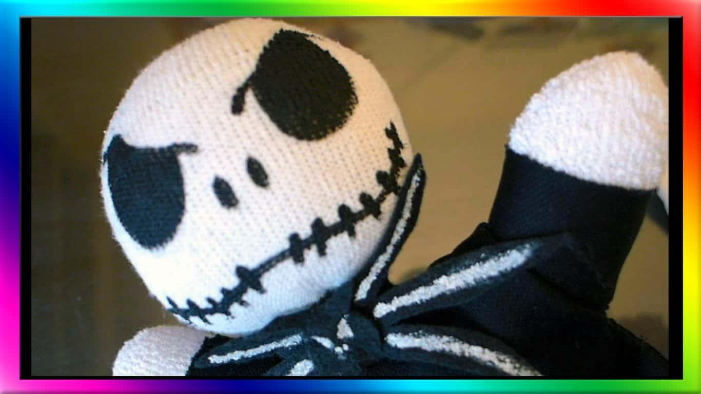 Jack Skellington sock doll