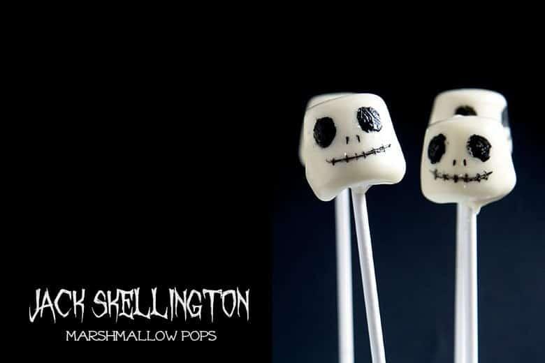 Jack marshmallow pops