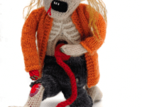 Knitted zombie doll 200x150 Ring in the Spooky: Best Zombie Themed Crafts for Kids
