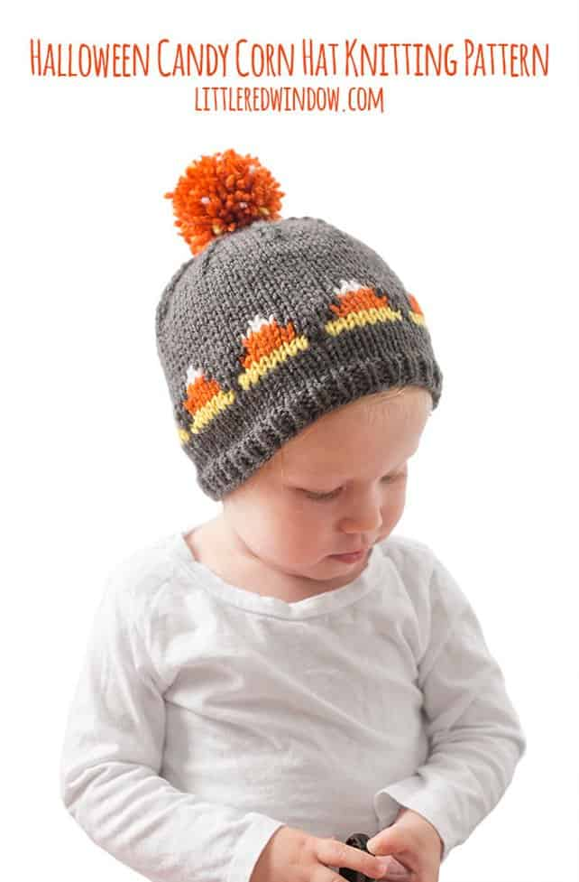 Littel candy corn hat